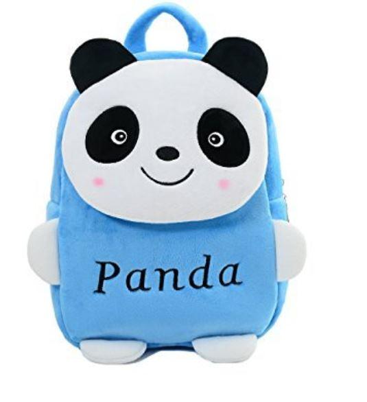 Proera Blue Panda Polyester 4 Ltrs Kids Backpack ,School Bag, Nursery Bag Shoulder Backpack For Kids