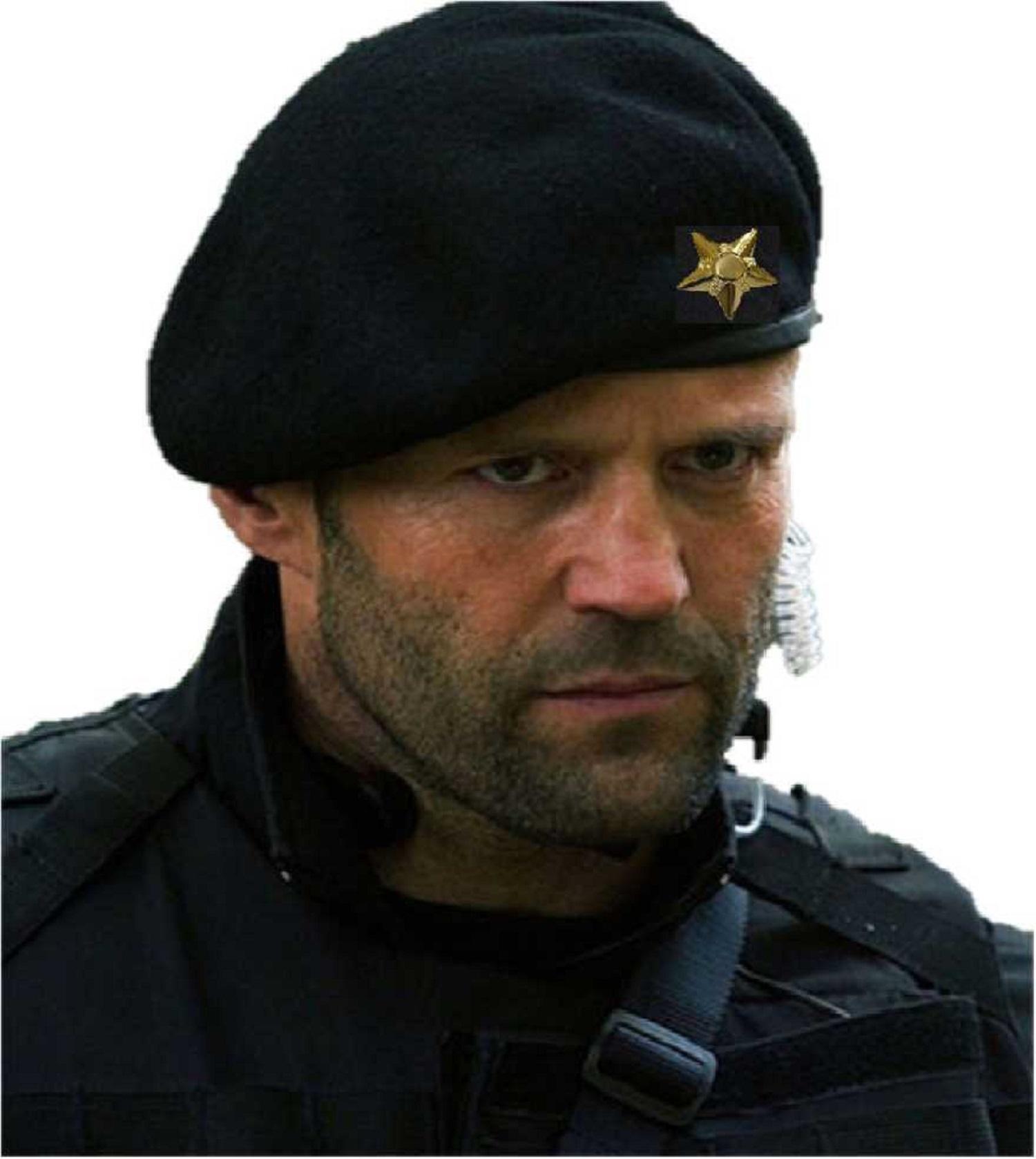 Unisex French Woolen Beret Cap, Rajputana Cap, Traditional Army Style Cap, Classic European Hat, Woolen Beret Cap