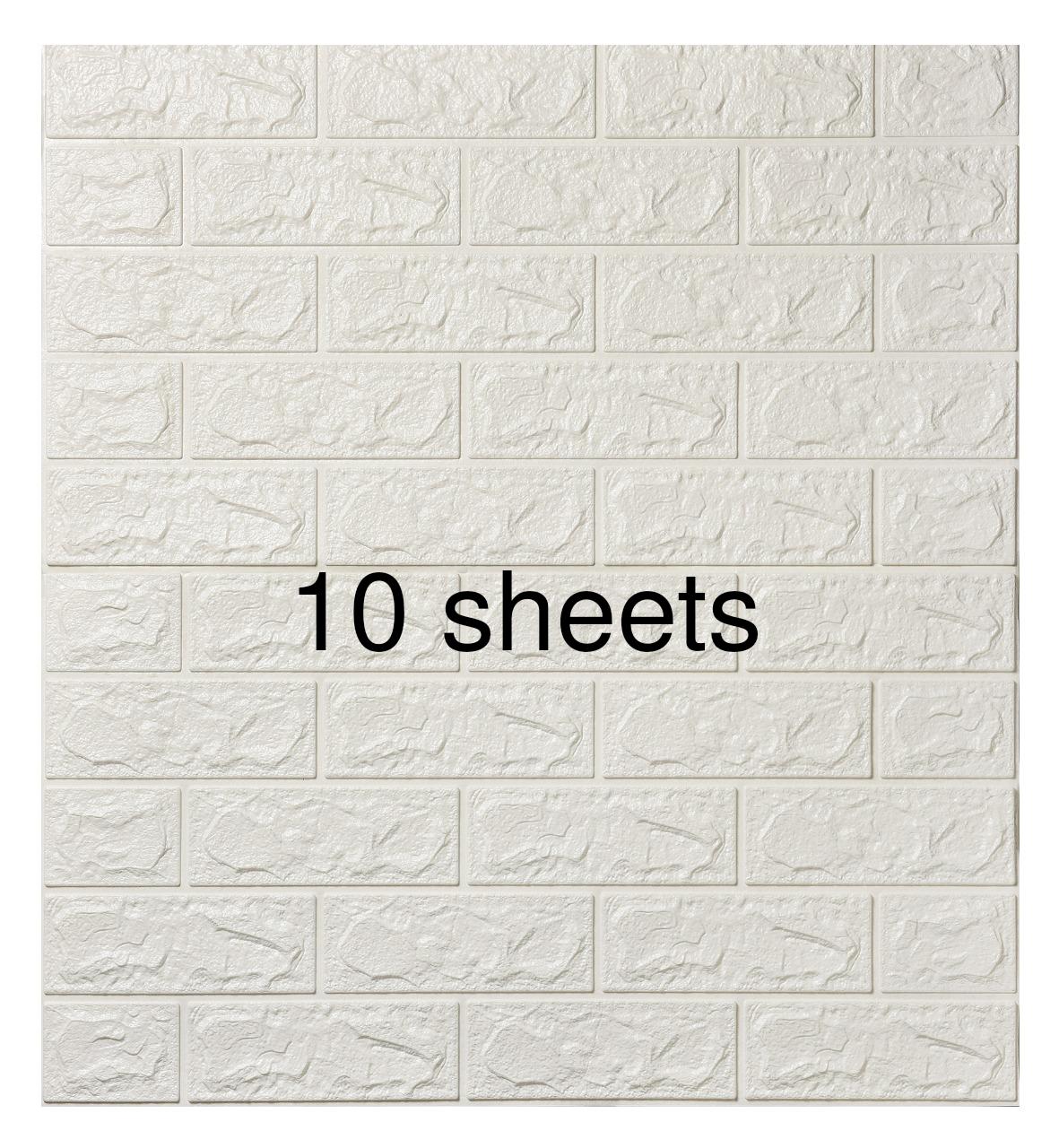 3D Foam brick wall panel/wallpaper