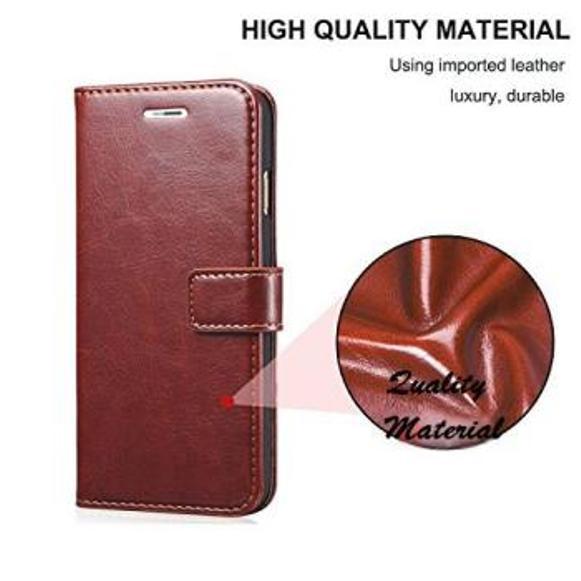 Vimkart wallet flip mobile cover case for Samsung M20