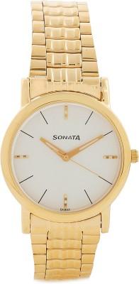 Sonata 7987YM05 Klassik Analog Watch   For Men