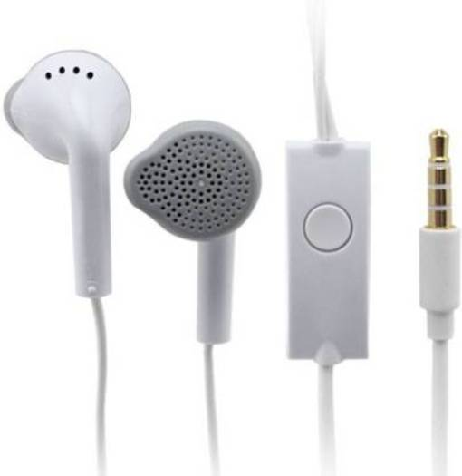 Samsung YS EHS61ASFWE Wired Headset  White, In the Ear