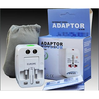 Universal All in One World Travel Adapter Surge Protector Charger Plug  N 1001
