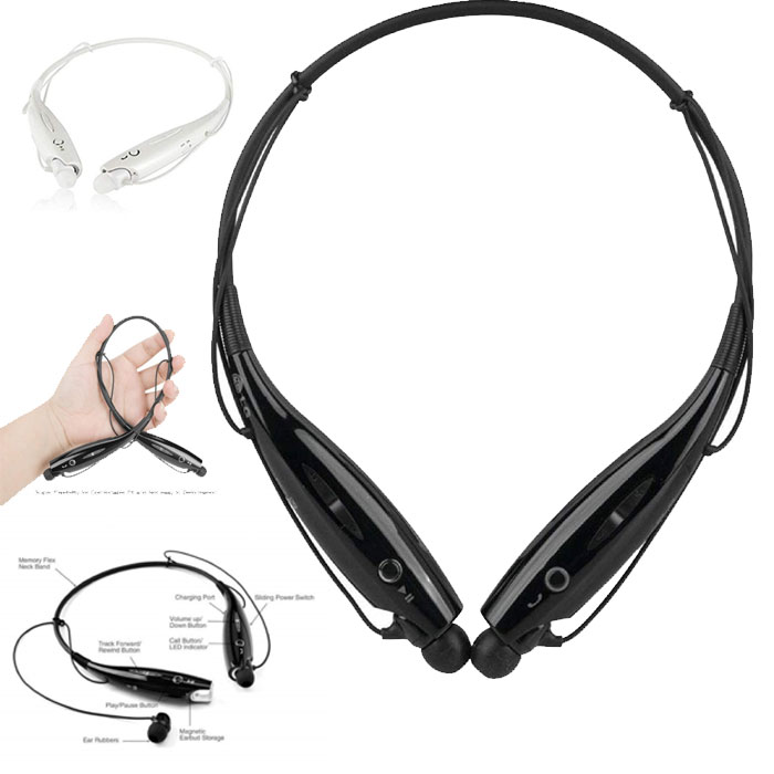 Unv Hbs 730 Neckband Bluetooth Headphones Wireless Sport Stereo Headsets Wi