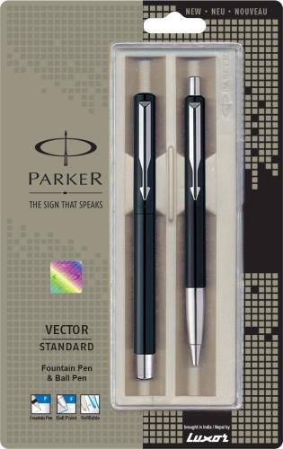 Parker Vector Standard Fountain Pen + Ball Pen Pen Gift Set