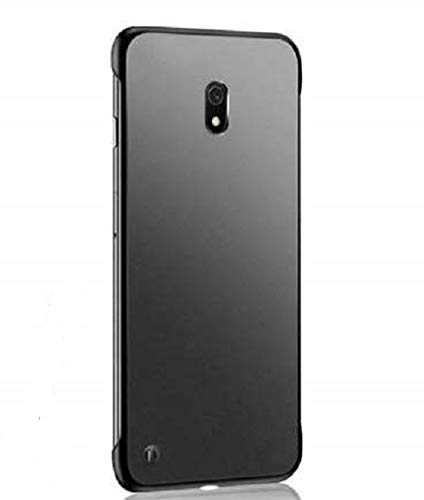 Maggzo Ultra Thin Frameless Matte Transparent Buckle Back Cover Case For OnePlus 3 / OnePlus 3T   Black