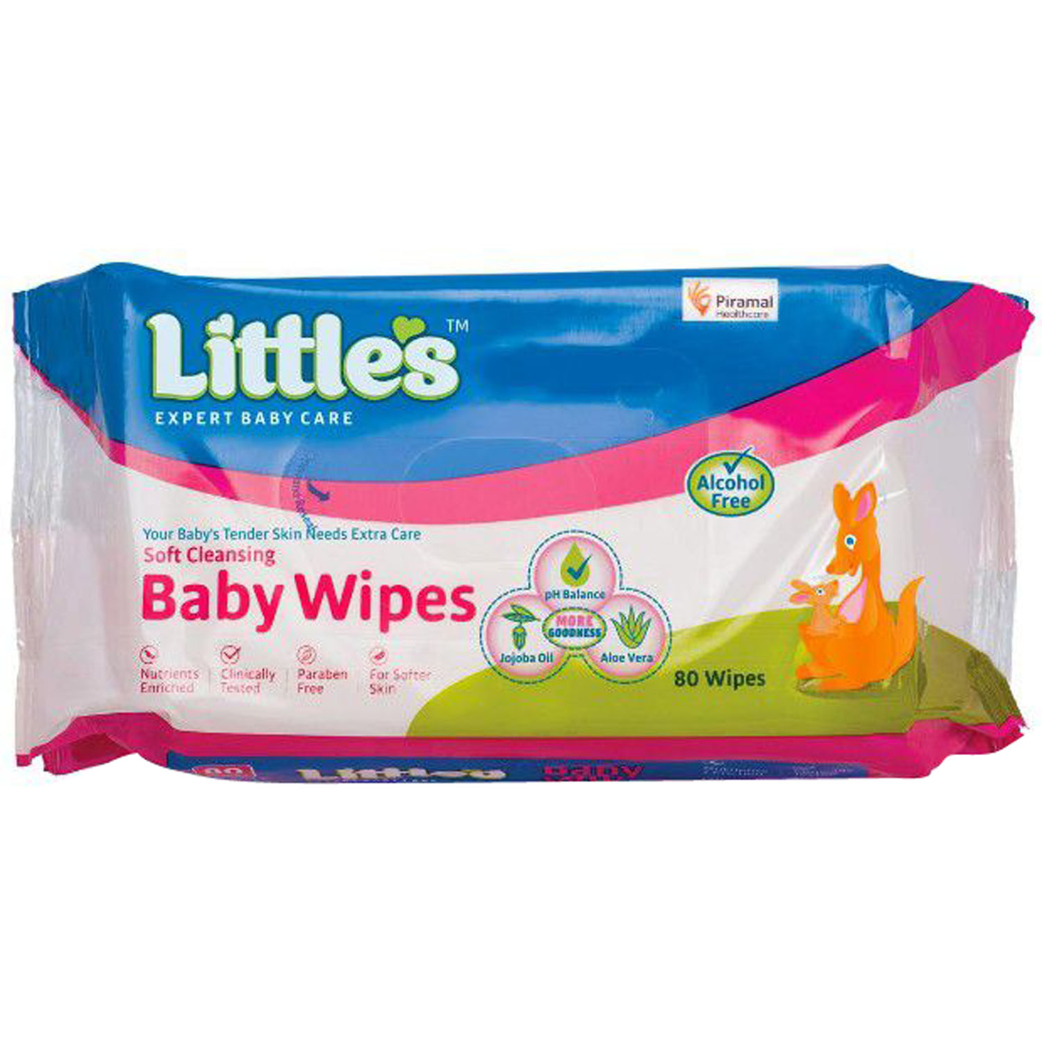 Little'S 80'S Softclean Baby Wipes