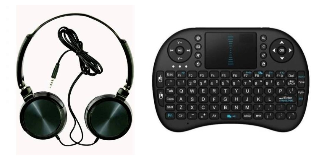Tempo Wired headphone and Hard Bluetooth KeyBoard|| Wired Headphone || Gym Headphone||