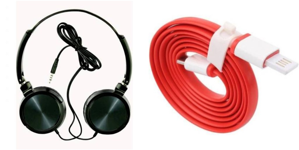 Tempo Wired headphone and Dash Cable|| Wired Headphone || Gym Headphone||