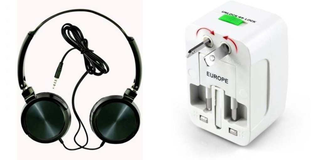 Tempo Wired headphone and Universal Adaptor|| Wired Headphone || Gym Headphone||