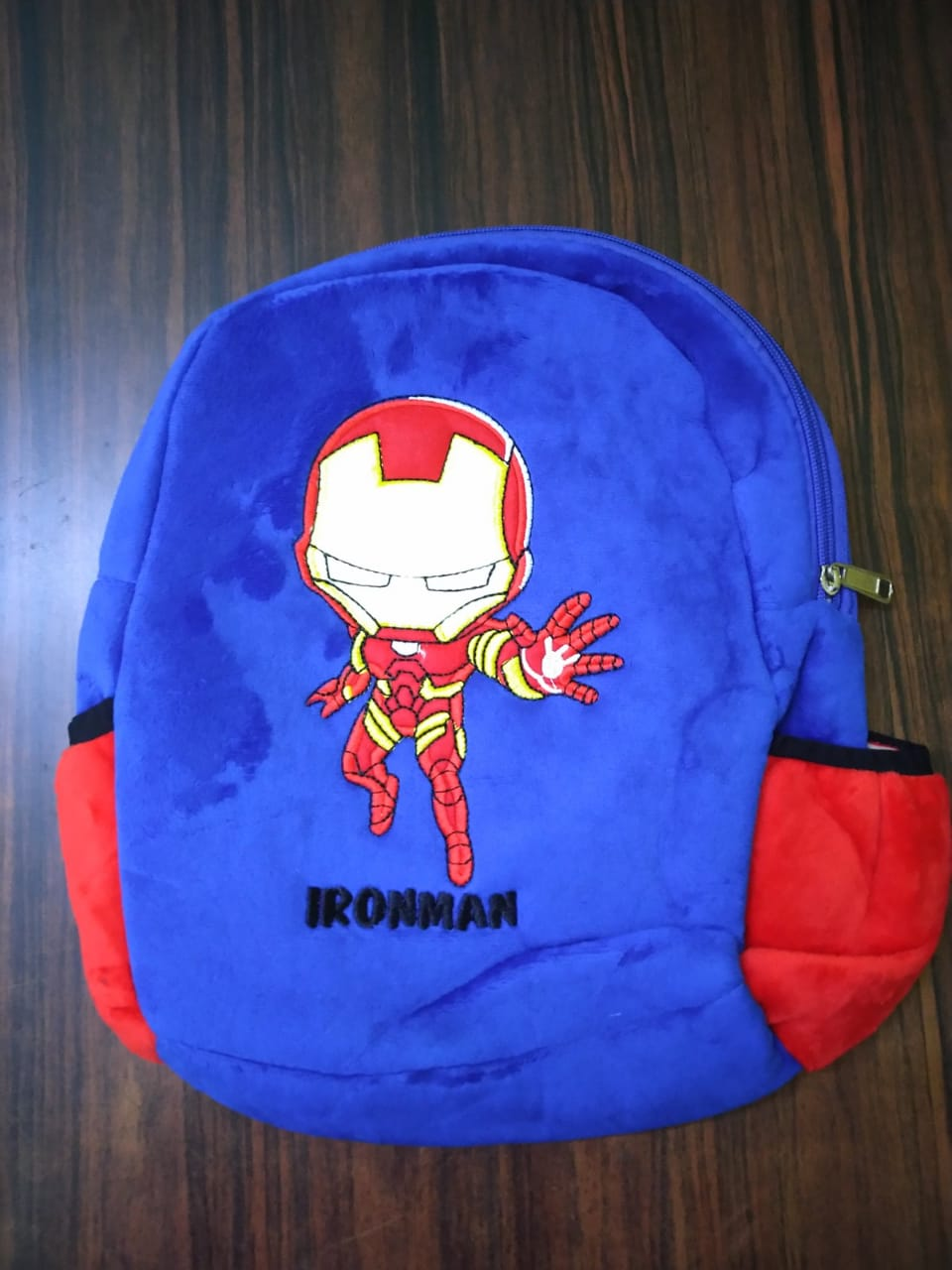 Kuhu Creations Cute Cartoon Style Small Bag, Backpack  Blue Style 1 Units  IRONM  .