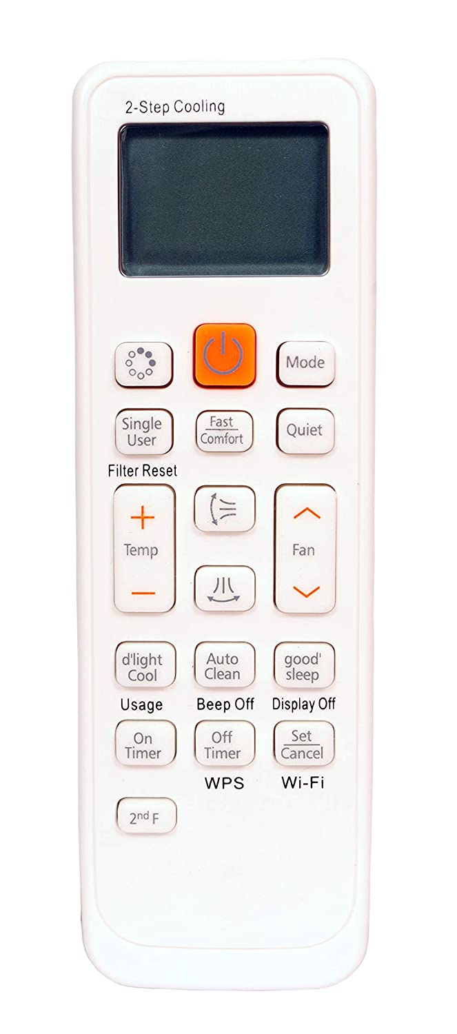 R L SONS Samsung Air Conditioner  AC  Remote Control/Controller Compatible with Samsung Split AC