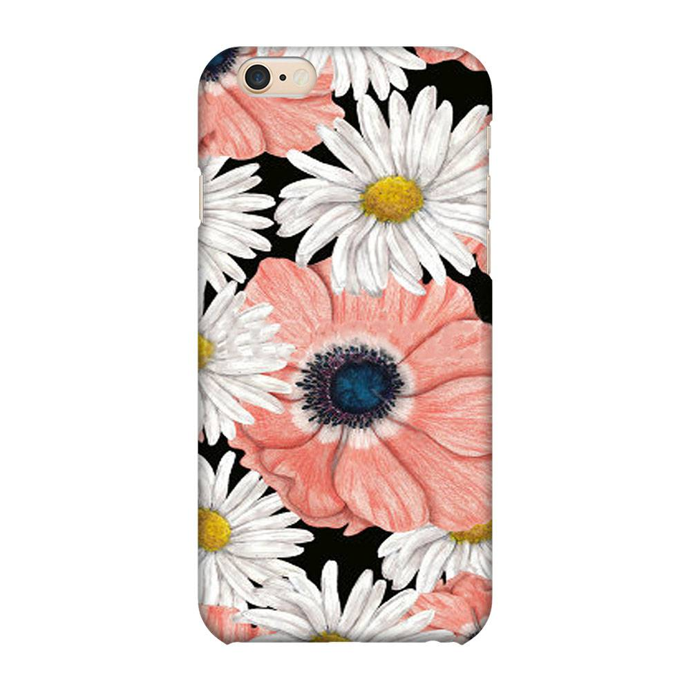 OnHigh Designer Printed Hard Back Cover Case For iPhone 6 Plus / iPhone 6s Plus, Two Flowers