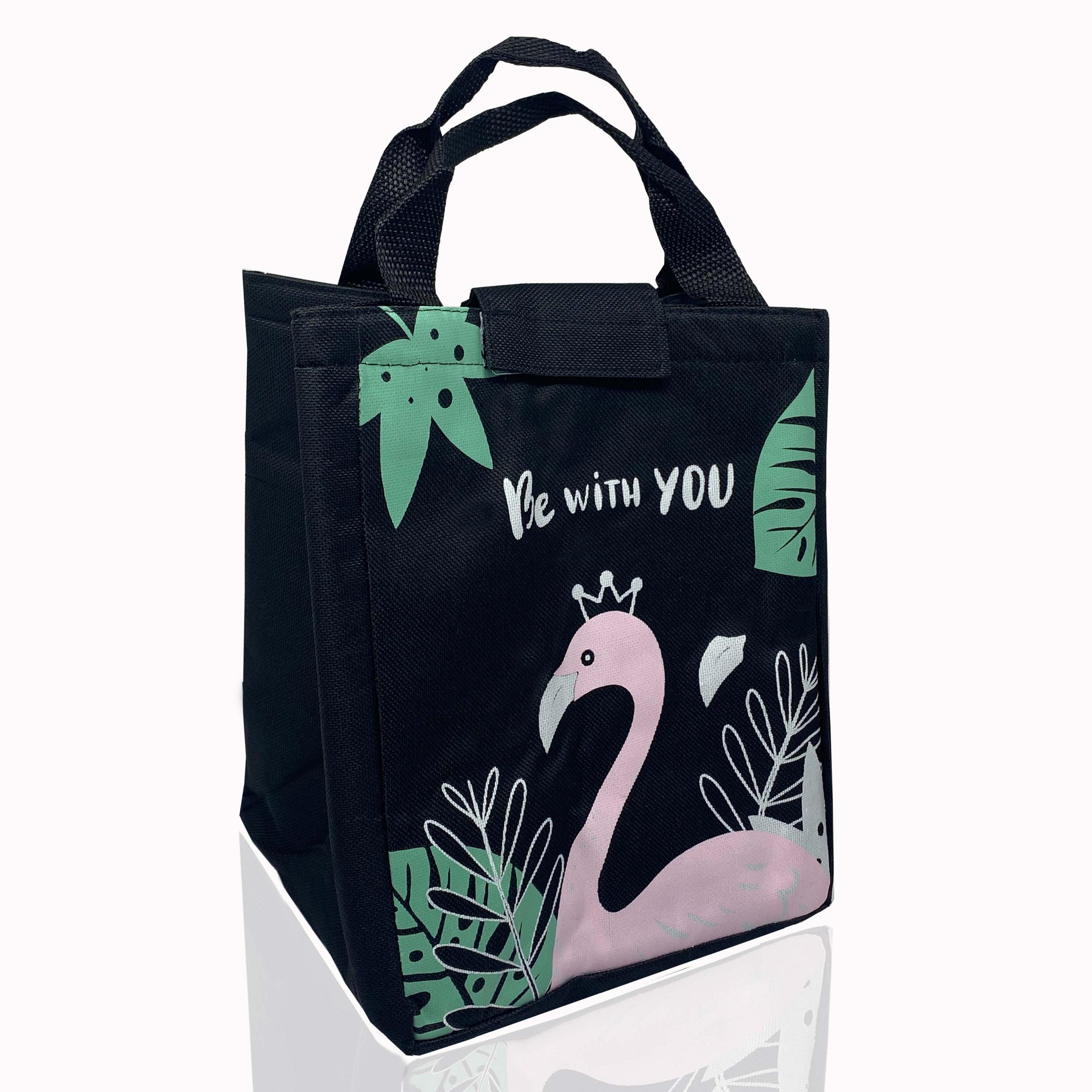 LooMantha Jute Insulated Thermal Multipurpose Waterproof Lunch Bag