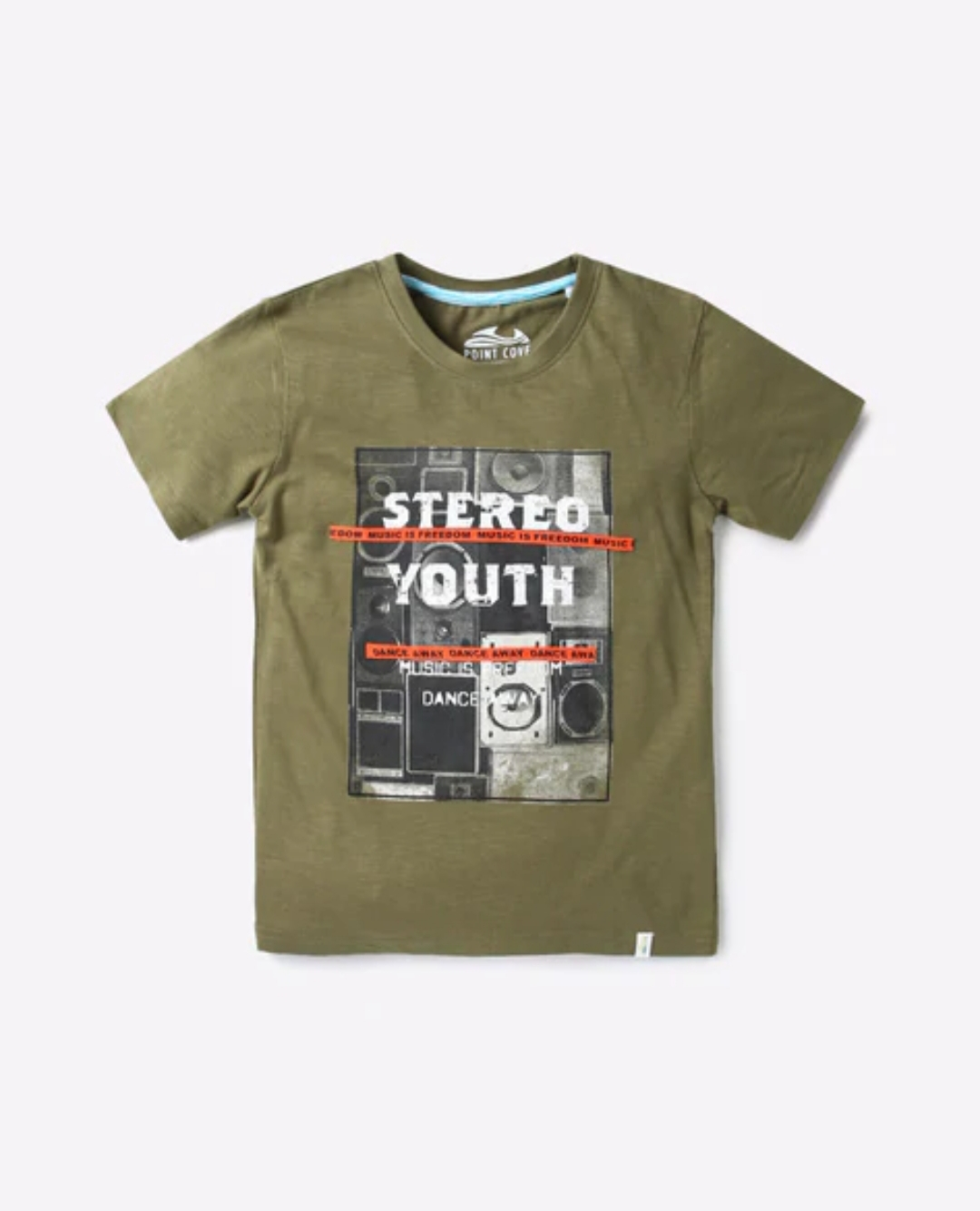 YATHI COLLECTIONS  POINT COVE  Graphic Print Crew Neck T shirt