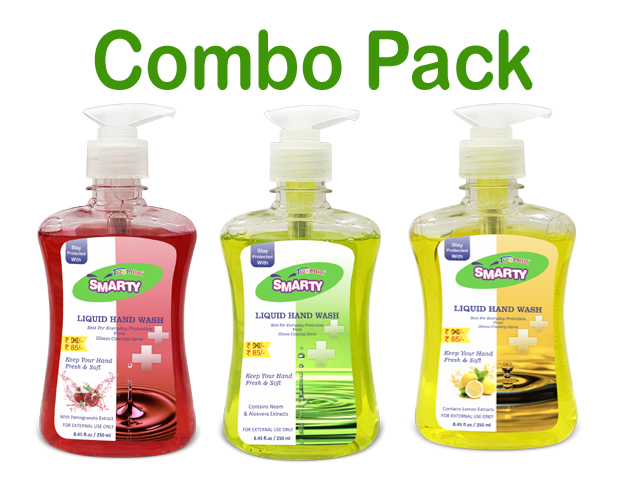 Smarty Twomax Liquid Hand Wash 250 ml  Pack of 3