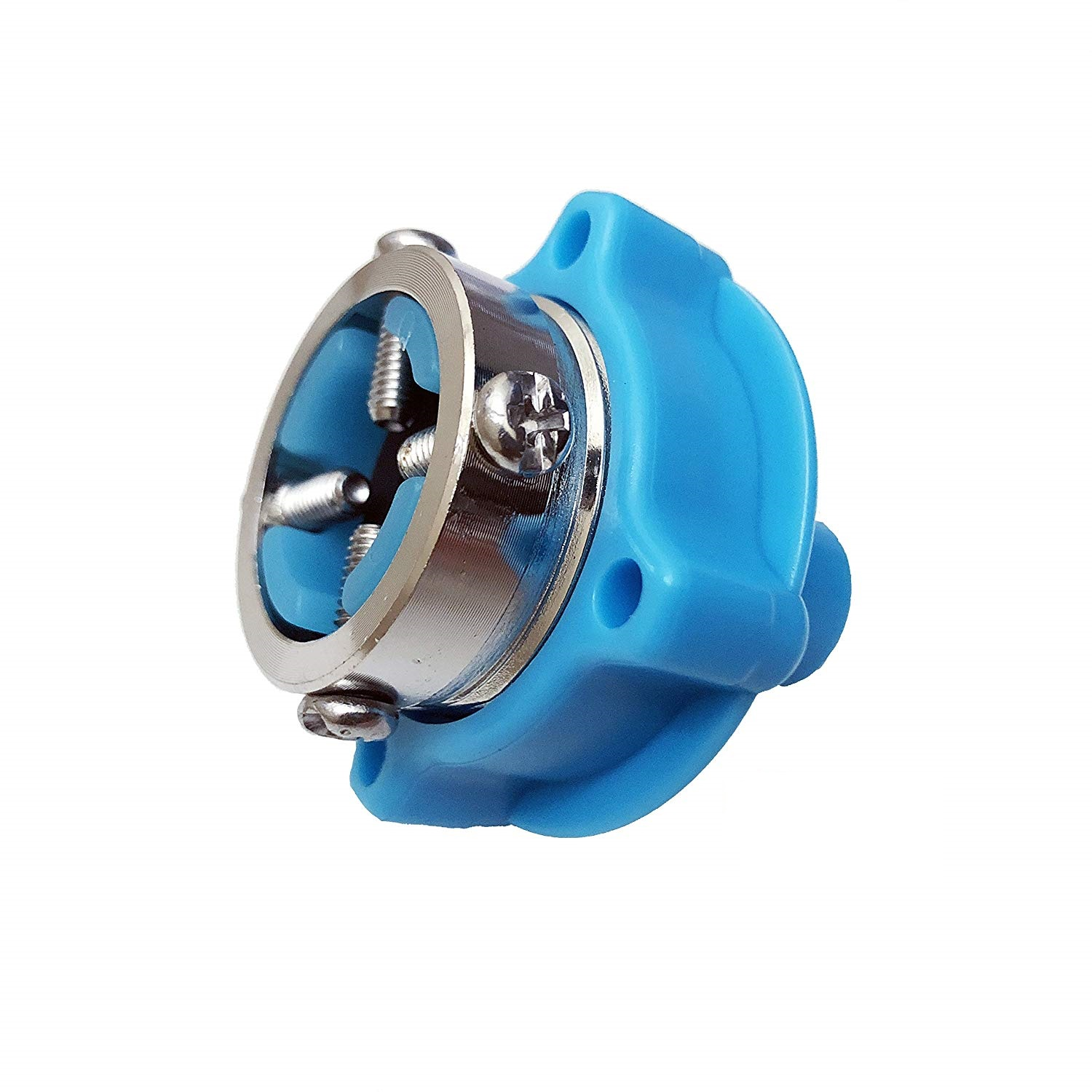 PBROS 1 Pieces Water Tap Adapter Connector for Fully Automatic Washing Machine Inlet Hose Pipe Tube  Blue