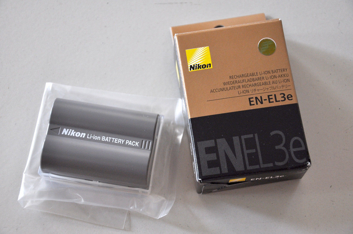 Nikon EN EL3e Battery For Nikon D700 D300 D200 D100 D90 D80 D80S D70 D70S