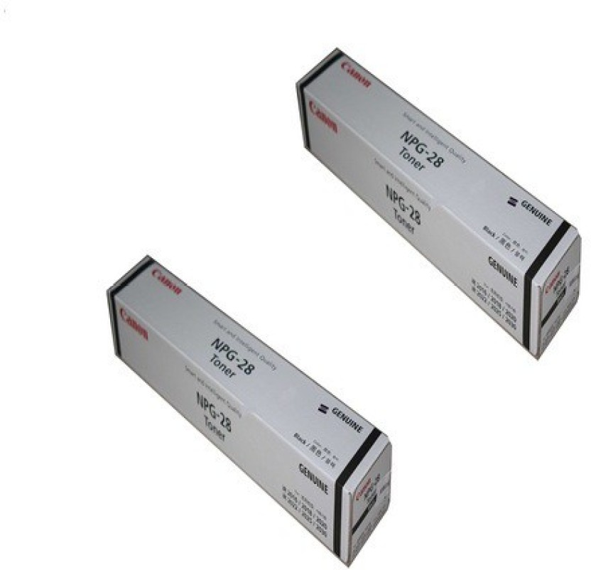 Canon Npg 28 Dual Pack Single Color Toner Black