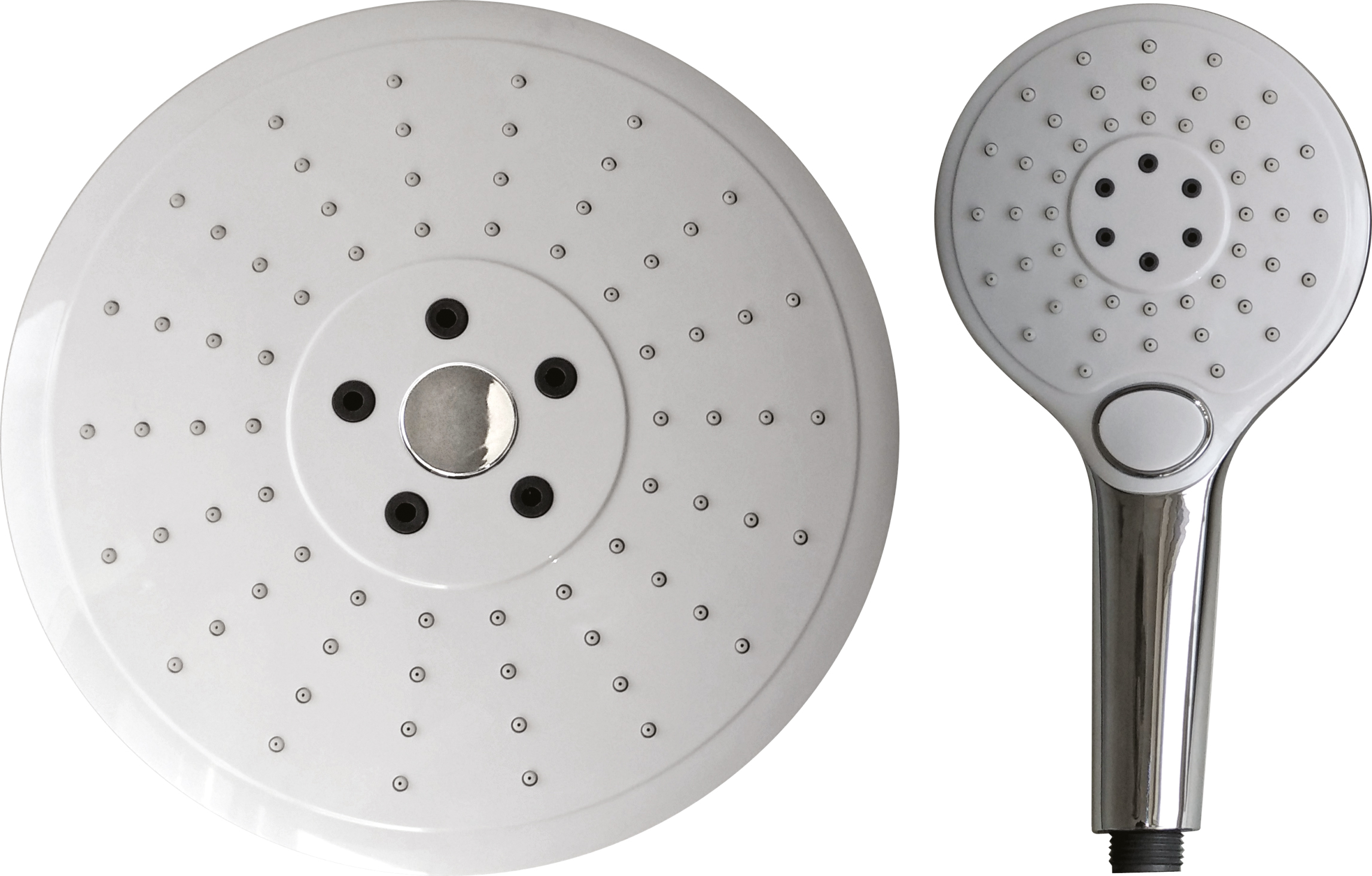 Jetta X Shower Head Combo with Hand Shower 2 Way Shower Functionality
