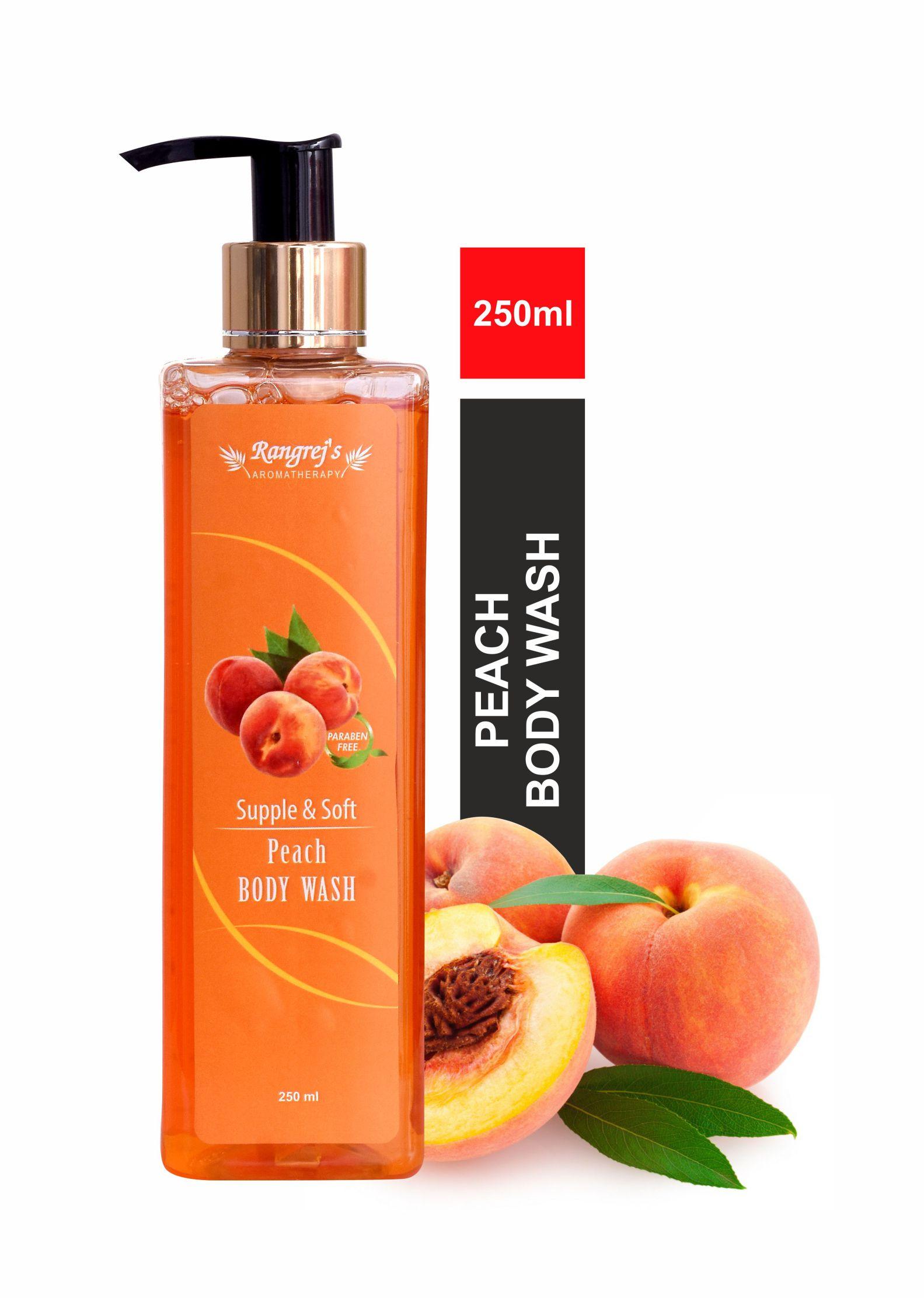 Peach Body Wash 250 ml