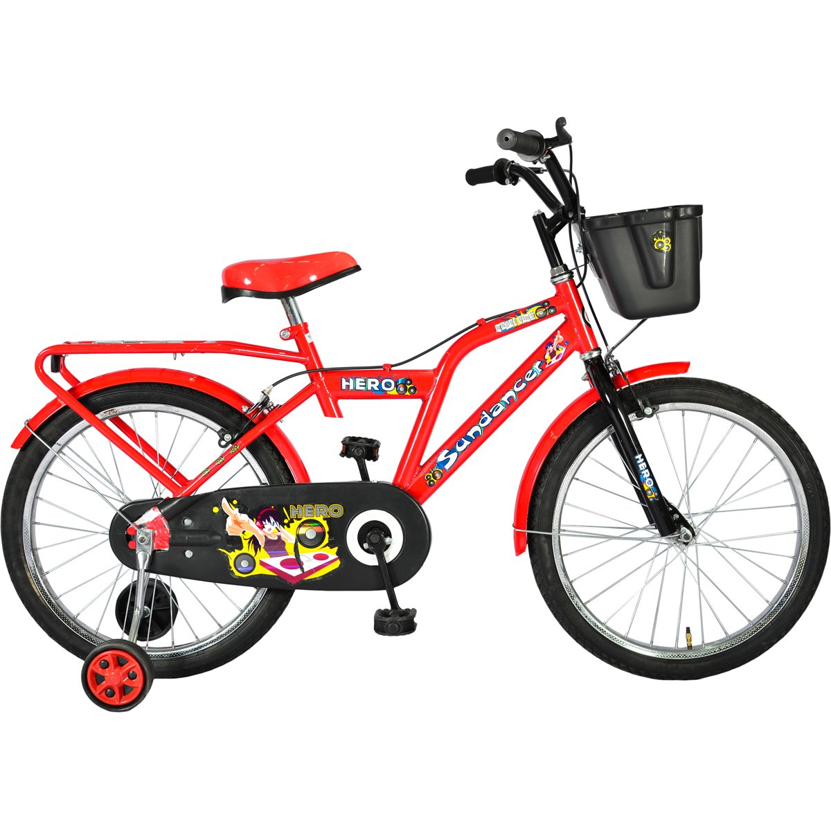 Hero Sundancer 20T Hi Riser Junior Bike 14 inches  Pink/Red
