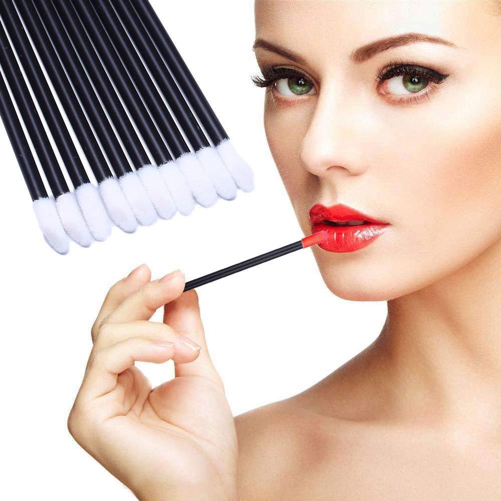 REGAL Disposable Lip Brushes Make Up Brush Lipstick Lip Gloss Wands Applicator Tool Makeup Beauty Kit  Pack of 5