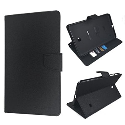 GADGETWORLD Luxury Mercury Book Cover for Samsung Galaxy Tab E 9.6  T560   Black
