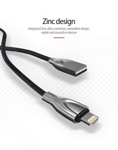 LDNIO Original Lightning Connector to USB Data Cable   1 Meter