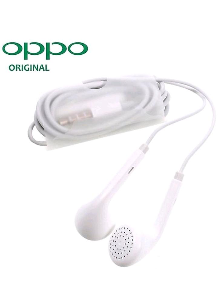 AFFIX ENTERPRISES Op po High Bass Wired in Ear Headphones Compatible for All Op po Smartphones White