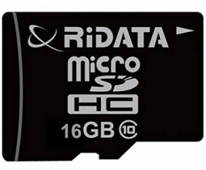 Ridata 16  GB Class 10 Memory Card