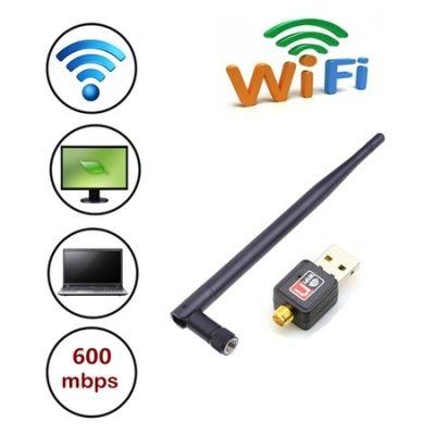 600 Mbps MINI Wireless USB WiFi Adapter Dongle Network LAN Card 802.11n