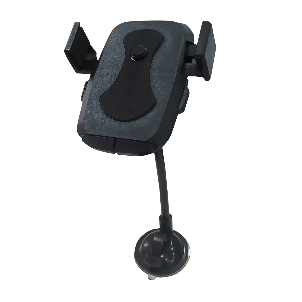 Nugenic Universal Telescopic Car Mount Mobile Phone Holder Stand for Dashboard Windshield All Smartphones Assorted Color