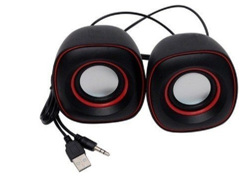 USB 2.0 Speaker Compatible with PC, Laptop and Tablet