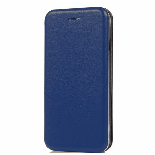 GADGETWORLD Luxury Leather Magnetic Flip Cover for OnePlus 5T  Blue