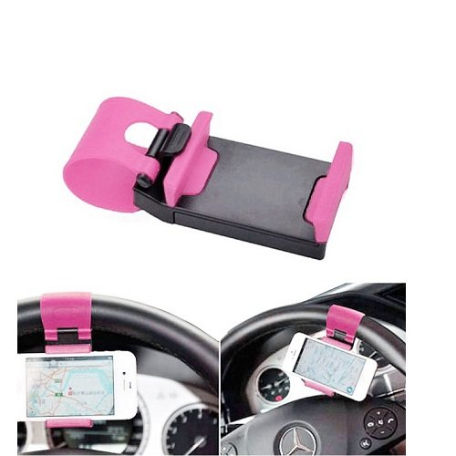 Car Mobile Holder for Steering  Multicolor