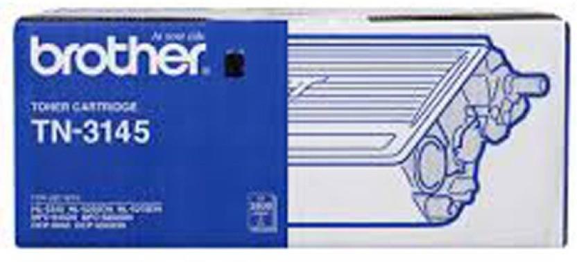 Brother Tn 3185 Black Toner Cartridge Single Color Toner  Black