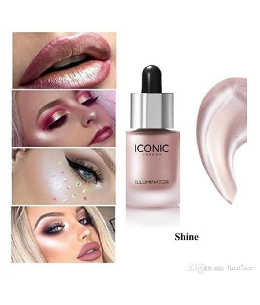 Iconic London Illumainator Highlighter For Body, Face Makeup  Shine