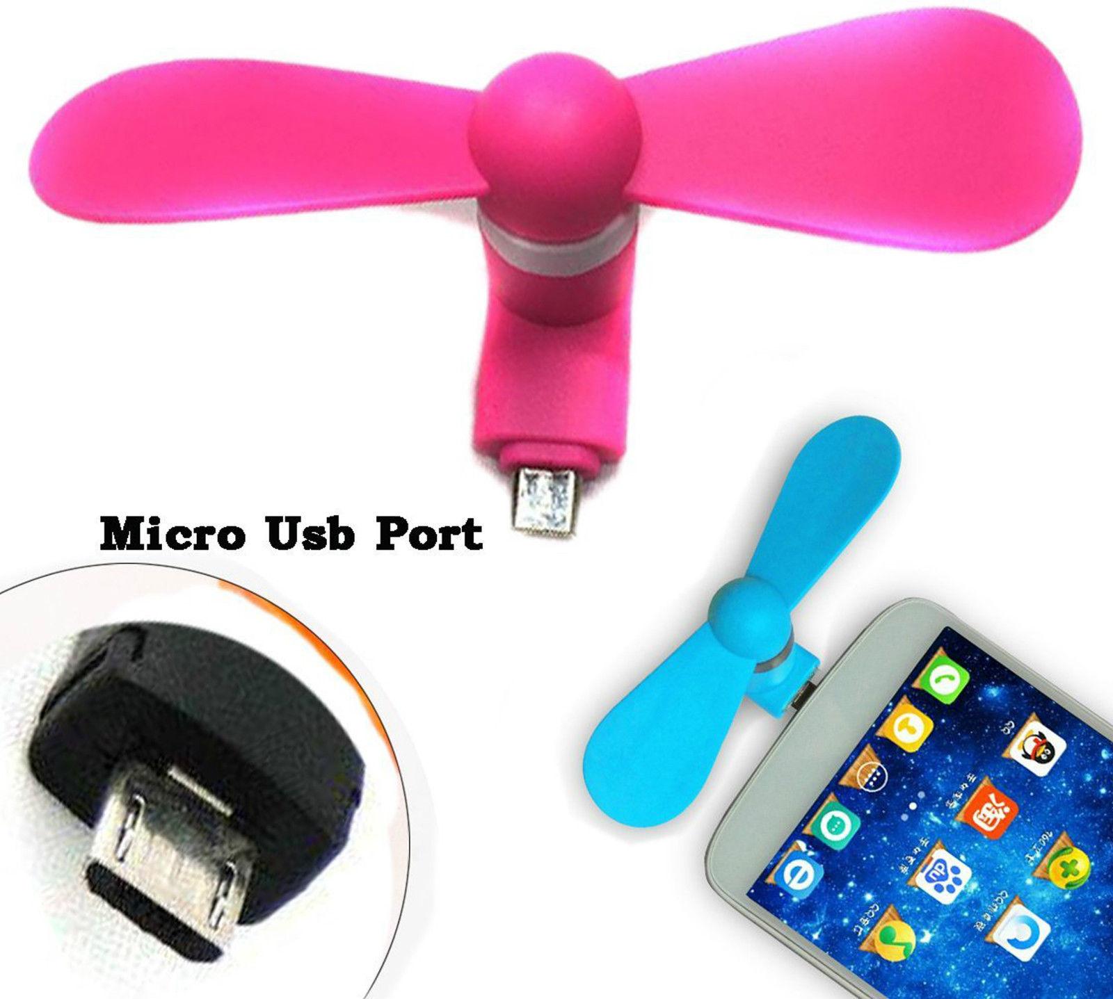 USB FAN   OTG Mini USB Cooling Portable Fan Mobile Cooler For V8 Android OTG Phone