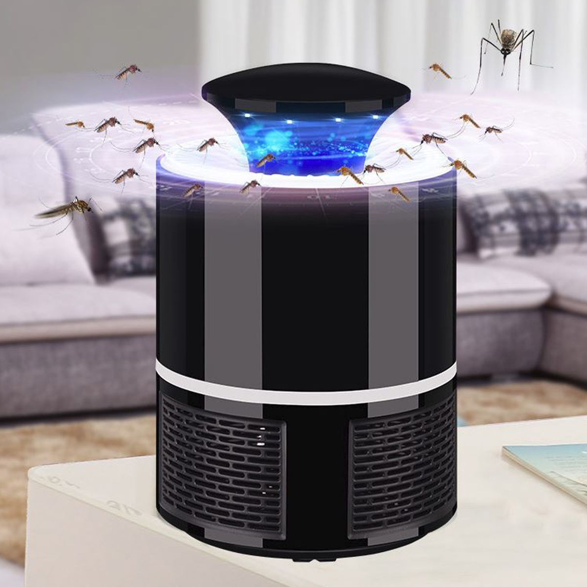 Mosquito Killer Lamp USB Electric Mosquito Light 365 Nano Wave Anti Fly Bug Insect Night Light 5V Mosquito Trap Lamp