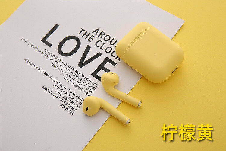 Inpods 12 Headset With Charging Case Wireless Bluetooth Earphone With Mic