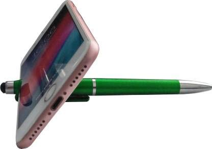 Pack of  5  Pen Holder Stand Touch Screen Pens for iPad Mobile Smart Phone Office School Writing