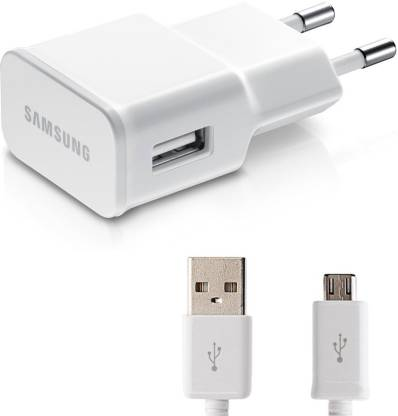 2.0 Amp. mobile charger / Travel charger / Fast charger compatible for Samsung Smart mobile phones with data cable