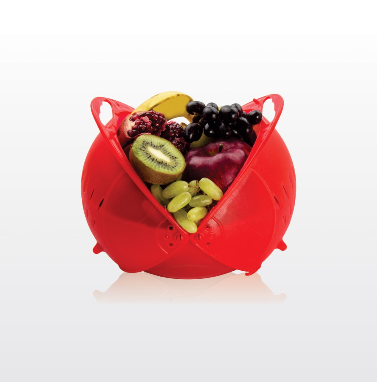 BlUMOON Plastic Fruit Vegetable Basket Plastic Fruit Vegetable Basket  Multicolor