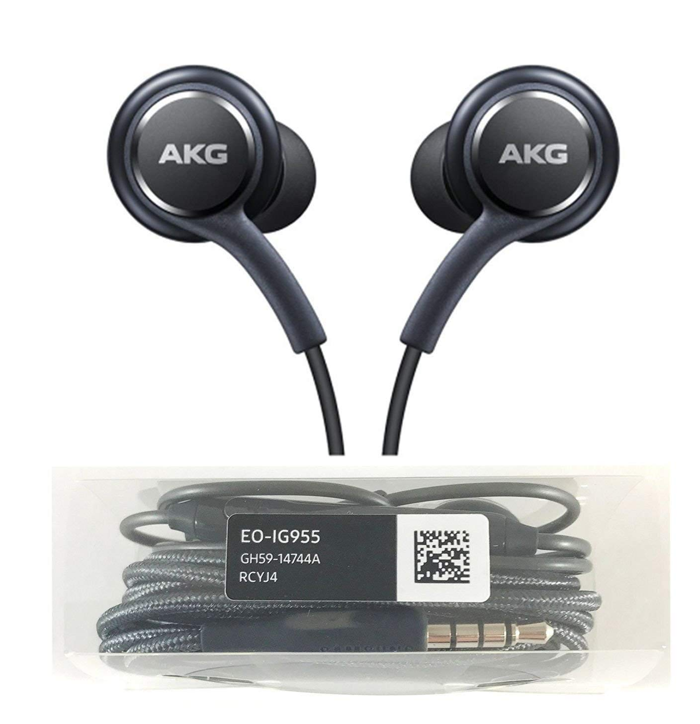AKG Wired With Mic Earphone With 3.5mm Jack Best For Mobile Gaming