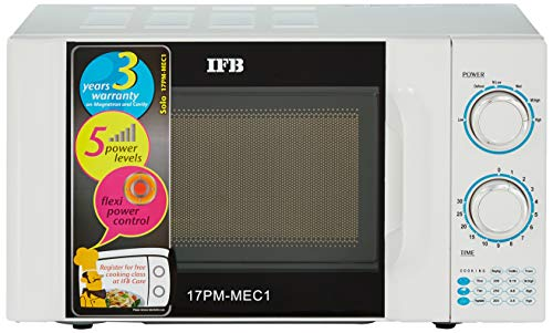 IFB 17 L Solo Microwave Oven  17PM MEC 1 White
