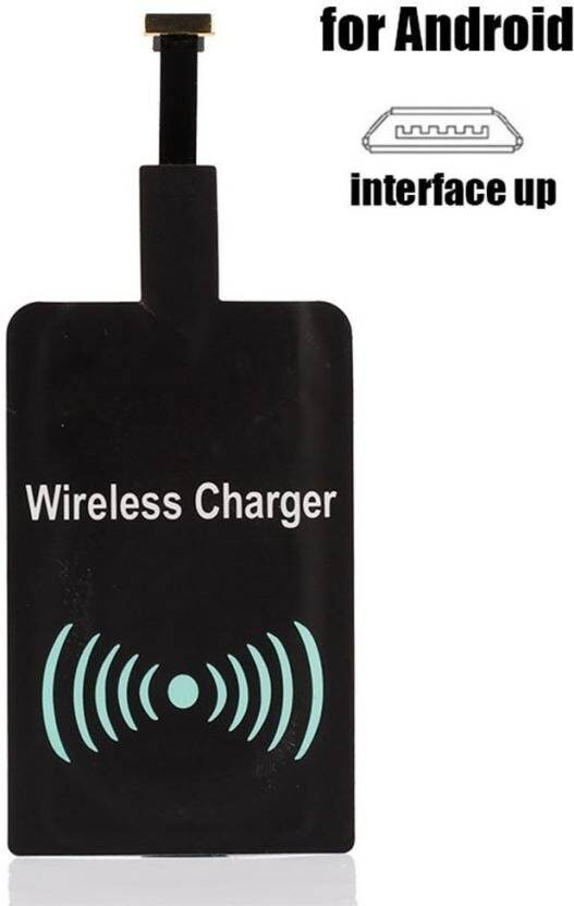 QI Wireless Charging Receiver Pad Micro USB Charger Dock Module for Micro USB Android Mobile Phones
