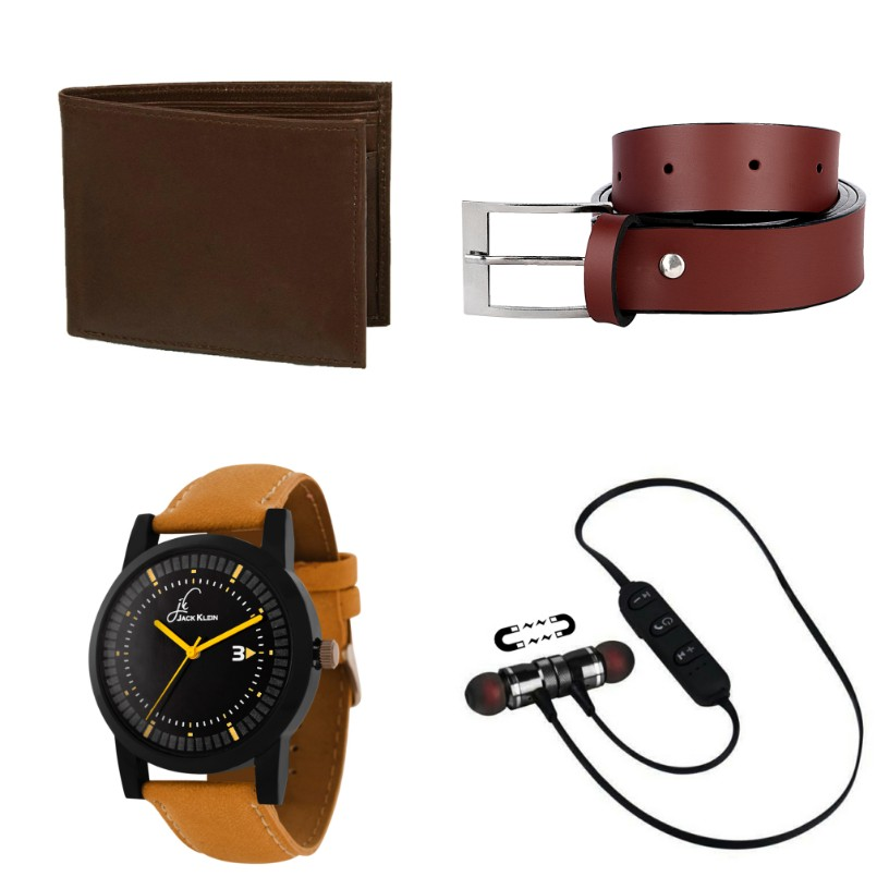 Jack Klein Multiple Combos With Synthetic Strap Watch For Men