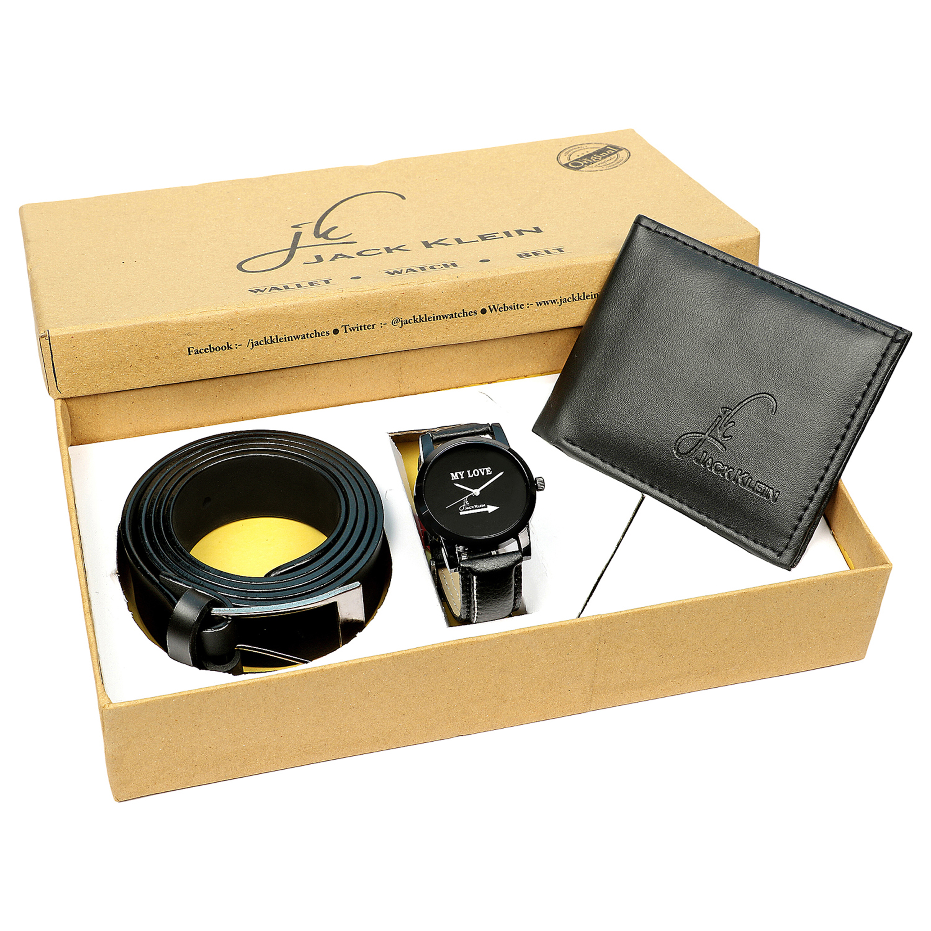 Jack Klein Watch With Gift Pack for Men's