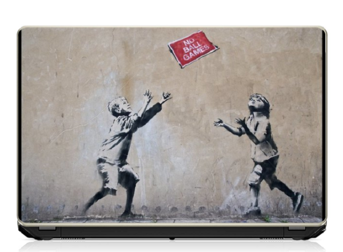 Pujya Designs Kids Playing1 Laptop Skin 15.6 Vinyl Vinyl Laptop Decal 15.6